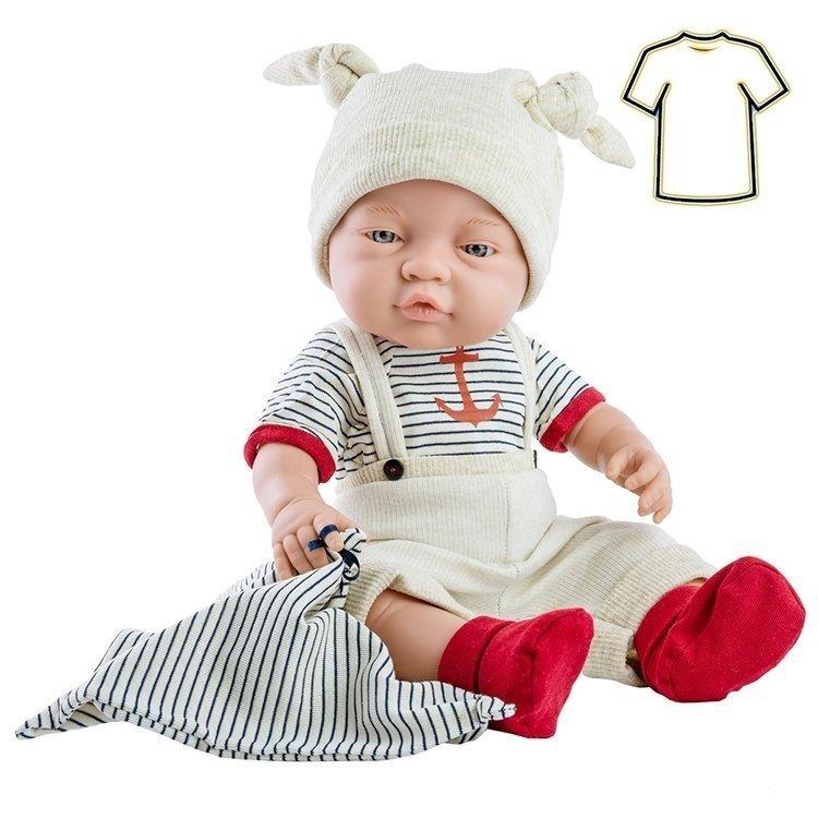 Ropa para muñecas Paola Reina 45 cm - Bebitos - Conjunto marinero