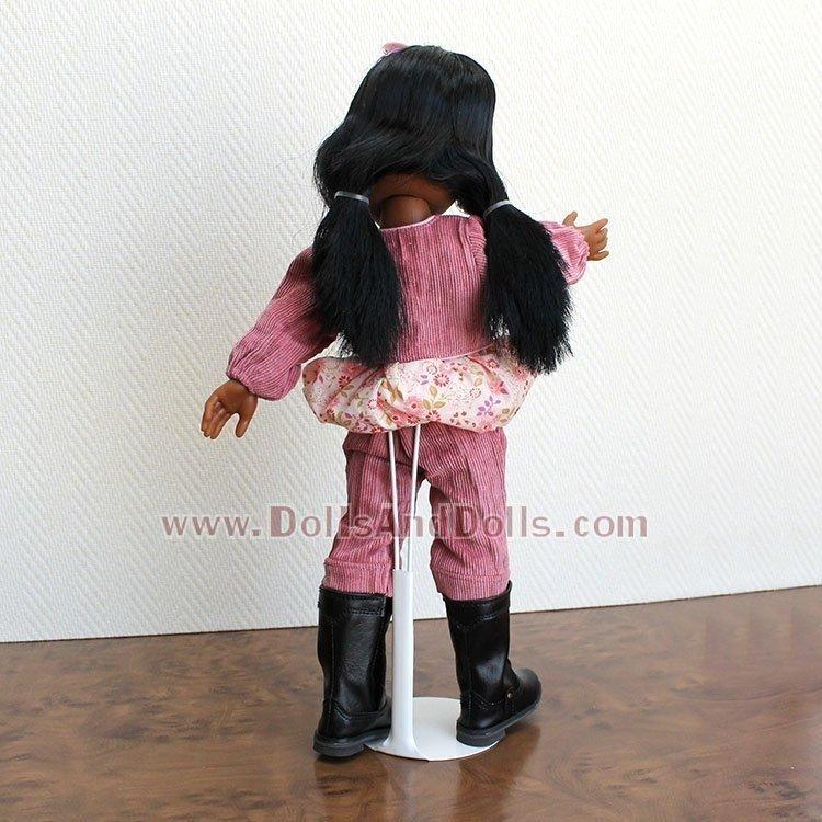 Peana metálica 2101 color blanco para muñecos tipo Ken Amigas Lesly Cheries Geyperman ActionMan