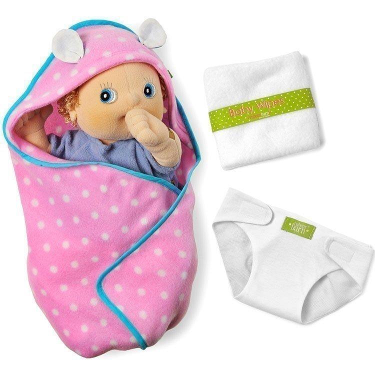 Complementos para muñecas Rubens Barn 45 cm - Rubens Baby - Set de cambio