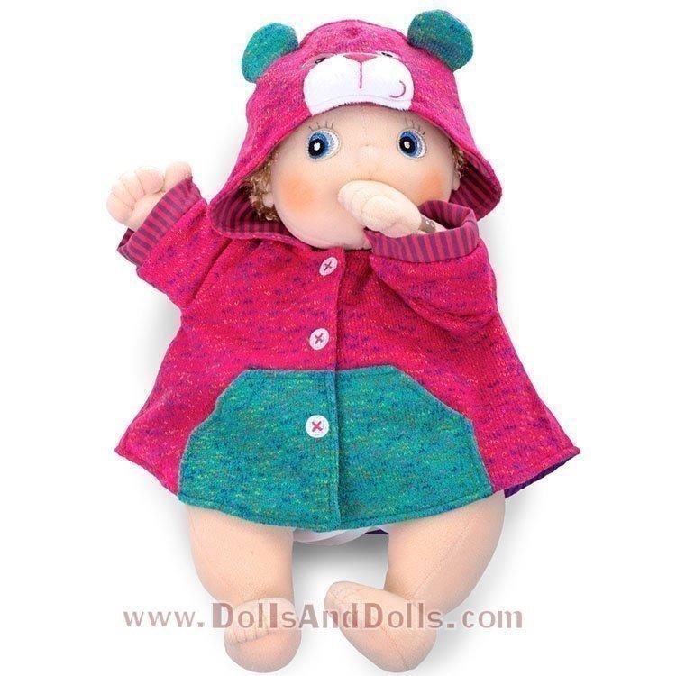 Ropa para muñecas Rubens Barn 45 cm - Rubens Baby - Chaqueta con capucha osito