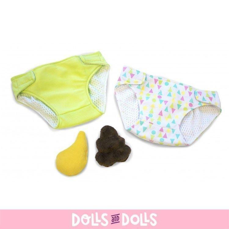 Complementos para muñecas Rubens Barn 45 cm - Rubens Baby - Set de pañal