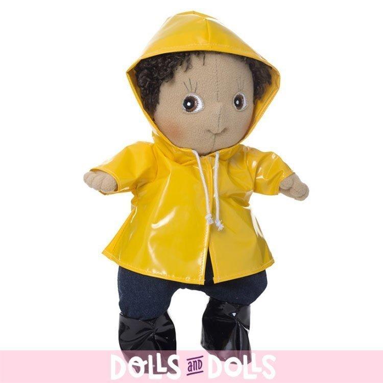 Ropa para muñecas Rubens Barn 32 cm - Rubens Cutie - Conjunto día de lluvia
