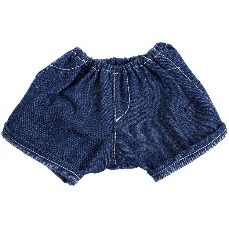 Ropa para muñecas Rubens Barn 36 cm - Ropa para Rubens Ark y Kids - Vaqueros cortos