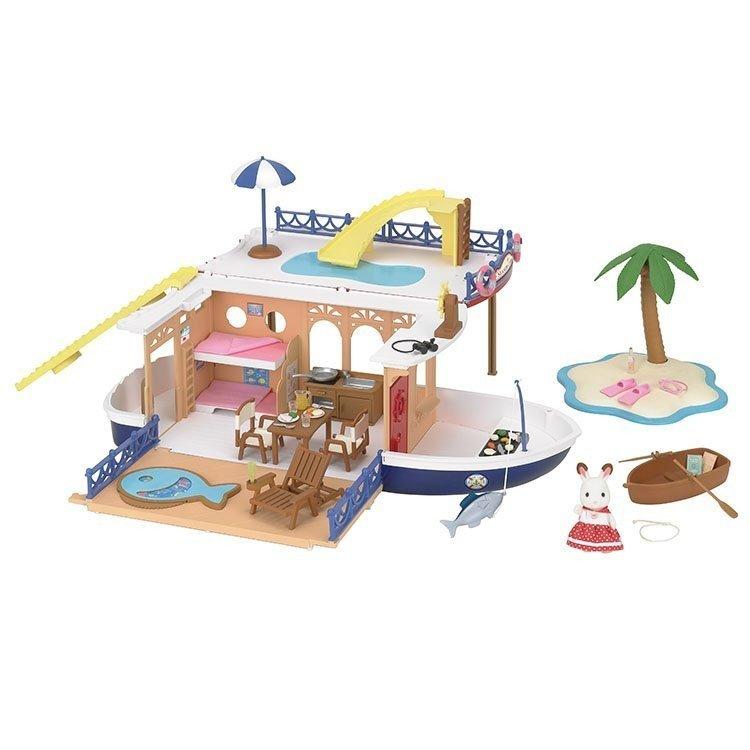 Sylvanian Families - Barco crucero casa del mar