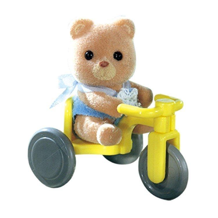 Sylvanian Families - Bebé para llevar - Oso con triciclo