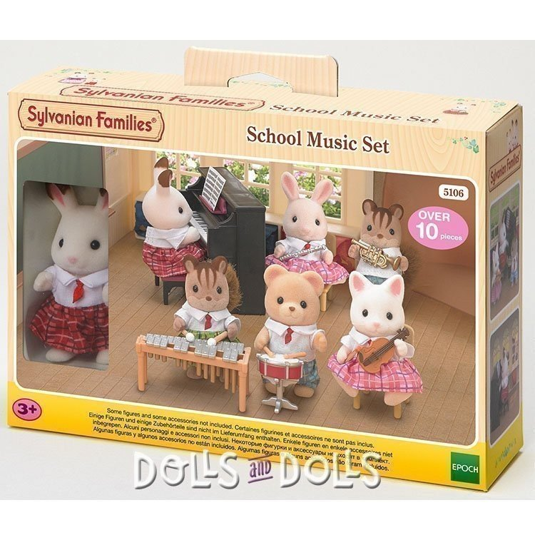 Sylvanian Families - Set escuela de música