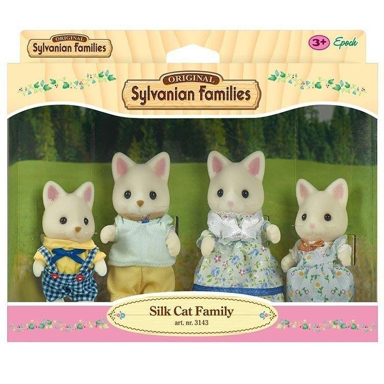 Sylvanian Families - Familia Gatos Seda
