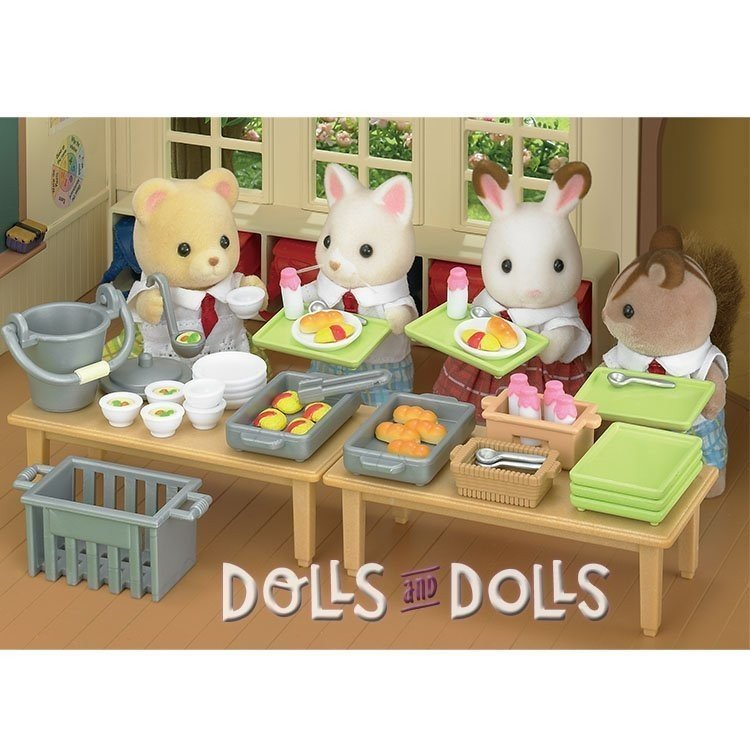 Sylvanian Families - Set comedor escuela