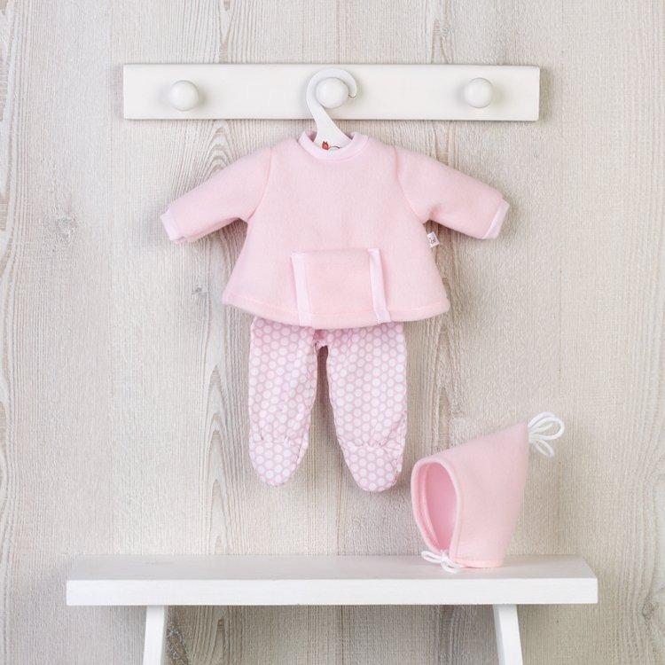 Ropa para Muñecas Así 36 cm - Conjunto sudadera con bolsillo rosa para muñeca Koke
