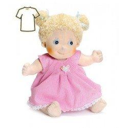 Ropa para muñecas Rubens Barn 38 a 40 cm - Little Rubens y Cosmos - Vestido rosa