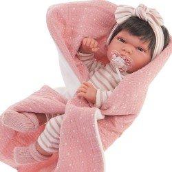 Muñeca Antonio Juan 33 cm - Baby Toneta con manta