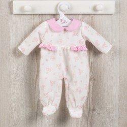 Ropa para Muñecas Así 36 cm - Pijama de ositos con luna rosa para muñeca Koke