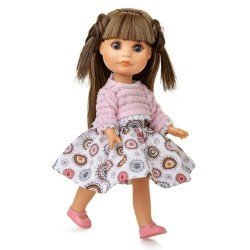 Muñeca Berjuán 22 cm - Boutique dolls - Luci con jersey rosa