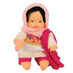 Muñeca Barriguitas Clásica 15 cm - Barriguitas del Mundo - Pakistán