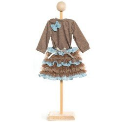 Ropa para muñecas KidznCats 46 cm - Vestido Arielle
