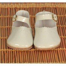 Complementos para muñecas Mariquita Pérez 50 cm - Zapatos charol beig