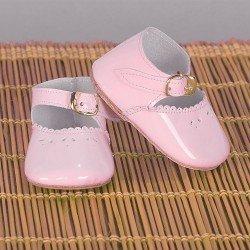 Complementos para muñeca Mariquita Pérez 50 cm - Zapatos charol rosa