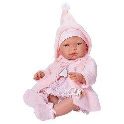 Muñeca Así 43 cm - María con trenca rosa