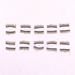 Complementos para muñecas Paola Reina 32 cm - Las Amigas con ojos fijos - 20 pestañas castañas