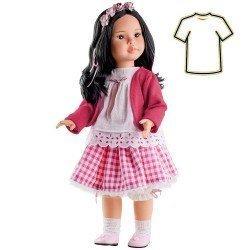 Ropa para muñecas Paola Reina 60 cm - Las Reinas - Vestido Mei Cuadros