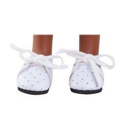 Complementos para muñecas Paola Reina 32 cm - Las Amigas - Zapatos blancos con cordones