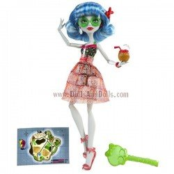Muñeca Monster High 27 cm - Ghoulia Yelps Isla Calavera