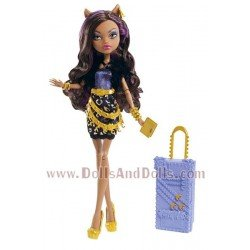 Muñeca Monster High 27 cm - Clawdeen Wolf Scaris Deluxe