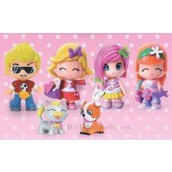 Pin y Pon Pack de 4 figuras y 2 mascotas