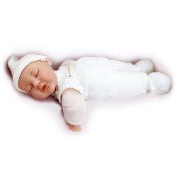 Muñeca Anne Geddes - Bebé vestido de blanco