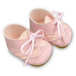 Complementos para muñecas Antonio Juan 40-42 cm - Botitas con cordones rosa