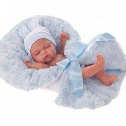 Muñeco Antonio Juan 26 cm - Luni niño arrullo azul