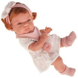 Muñeca Antonio Juan 33 cm - Baby Toneta con baberito