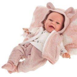 Muñeca Antonio Juan 34 cm - Baby Clara con chaleco