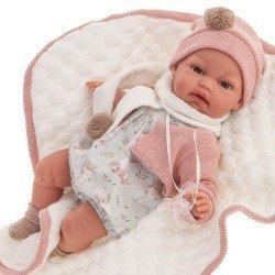 Muñeca Antonio Juan 34 cm - Baby Toneta con mantita