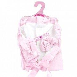 Ropa para muñecas Antonio Juan 26-27 cm - Conjunto de braguitas rosas con gorro y arrullo