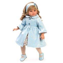 Muñeca Así 57 cm - Pepa con abrigo celeste