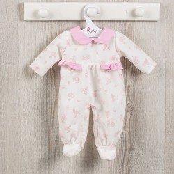 Ropa para Muñecas Así 43 cm - Pijama de ositos con luna rosa para muñeca María