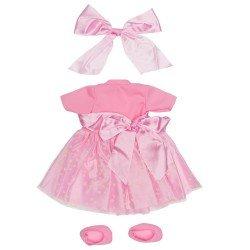 Ropa para Muñecos Así 57 cm - Vestido de Pepa ballet estrellas