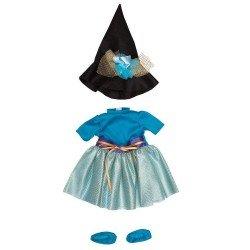 Ropa para Muñecos Así 57 cm - Vestido de Pepa bruja