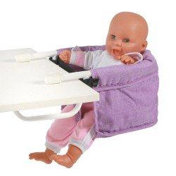 Sillita elevada para muñecas de hasta 60 cm - Bayer Chic 2000 - Lila