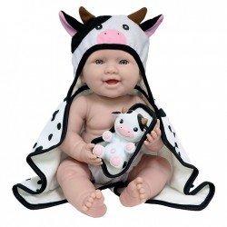 Muñeco Berenguer Boutique 43 cm - La newborn Moments - Vaca