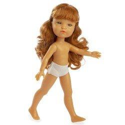 Muñeca Berjuán 35 cm - Boutique dolls - Fashion Girl pelirroja sin ropa