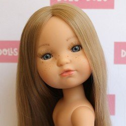Muñeca Berjuán 35 cm - Boutique dolls - Fashion Girl rubia con pelo extra largo sin ropa