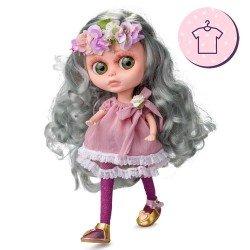 Ropa para muñecas Berjuán 32 cm - The Biggers - Vestido Margaret Frost