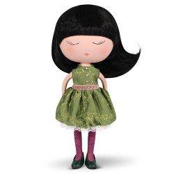 Muñeca Berjuán 32 cm - Anekke - Dreams con traje verde