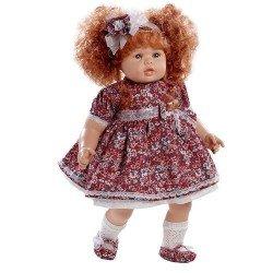 Muñeca Berjuán 63 cm - Boutique dolls - Anne con vestido de flores
