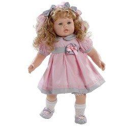 Muñeca Berjuán 63 cm - Boutique dolls - Anne con vestido rosa