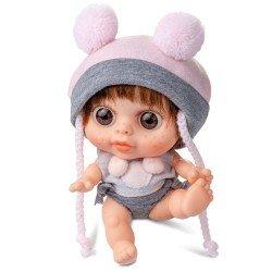 Muñeca Berjuán 14 cm - Baby Biggers castaña