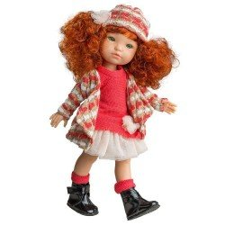 Muñeca Berjuán 35 cm - Boutique dolls - Fashion Girl Pelirroja