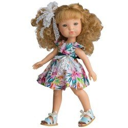 Muñeca Berjuán 35 cm - Boutique dolls - Fashion Girl Rubia
